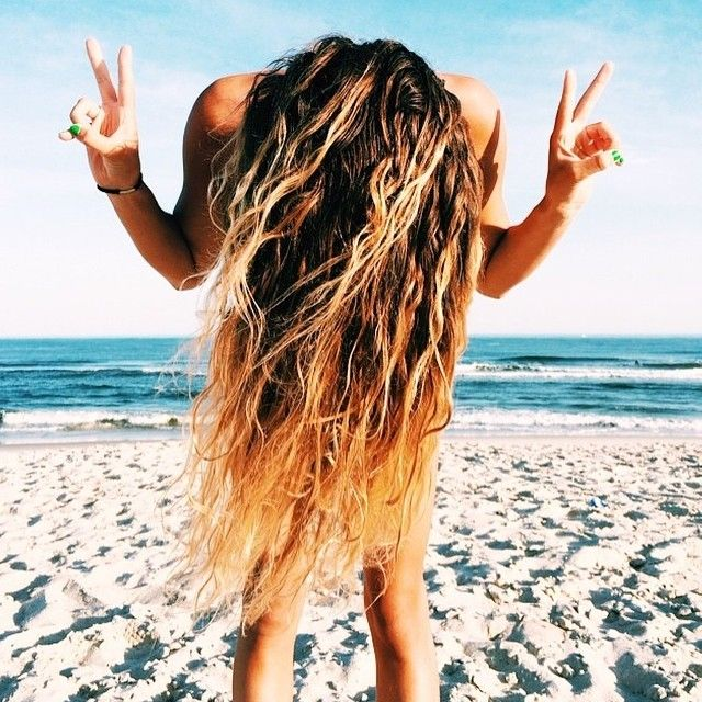 surf hair