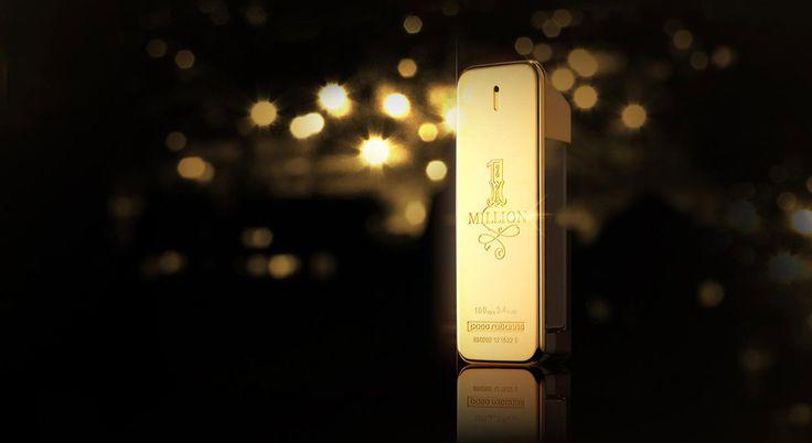 Paco Rabanne: 1 Million $ magnifie le célèbre lingot qui s'habille du dollar américain avec une version inédite du billet gravée sur la face du lingot. .. #CREATEUR - #1Million, #Dollar, #Lingot, #Nttw47, #Or, #PacoRabanne, #Parfum