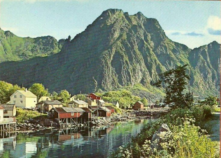 Nordland fylke Vågan kommune Svolvær Utg Aune 1970-tallet