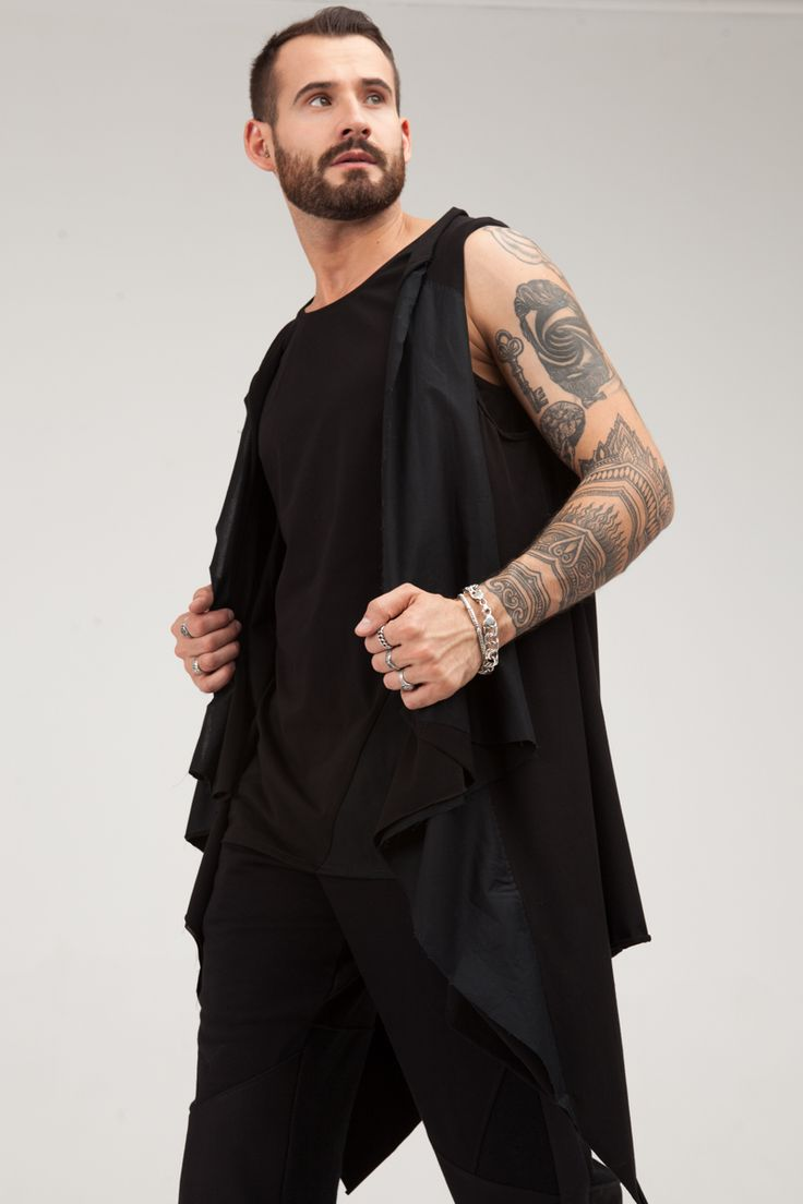 Lightweight, comfortable cloak of two kinds of black fabric - jersey and poplin.  #mariashi #fashion #newcollection #nofilter #outfit #outfitoftheday #outfits #outfitpost #clothes #fashionista #fashiondesigner #shopping