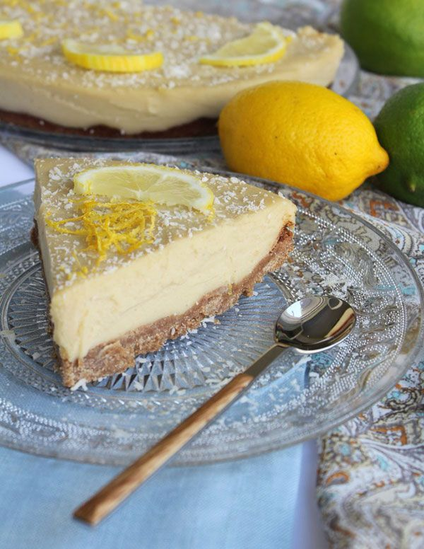 Вегетарианский лимонный пирог, Веганский лимонный пирог 2