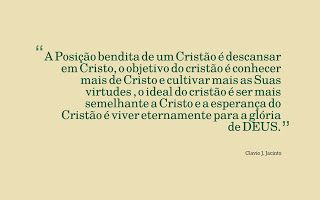 Pr C. J. Jacinto: Em Cristo