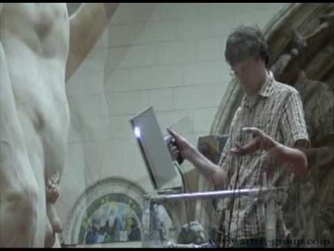 ▶ 3D scanning of the statue of David with Artec 3D scanner - YouTube Artec 3D scanners are excellent for sculpture and heritage preservation. Objex Unlimited is an Authorized Distributor of Artec 3D Scanners. Give us a call for more information regarding these outstanding scanners. http://objexunlimited.com/objex/objexunlimited/contact/