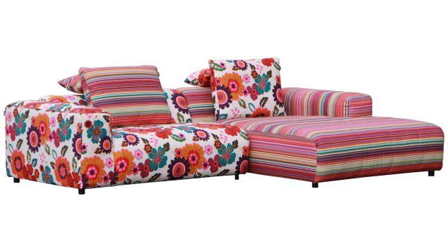 Loungebank Freistil Rolf Benz 187 Multi Color - Ideeu00ebn voor het huis ...