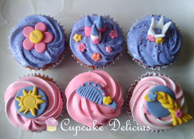 Cupcakes Rapunzel | Cupcake Delicias - Muffins - Concepción - Chile