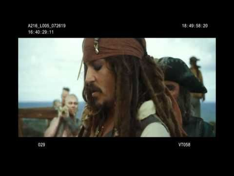 Pirates of the Caribbean 4 .On Stranger Tides  - Bloopers - LOL...the movie was terrible but the bloopers are great!!