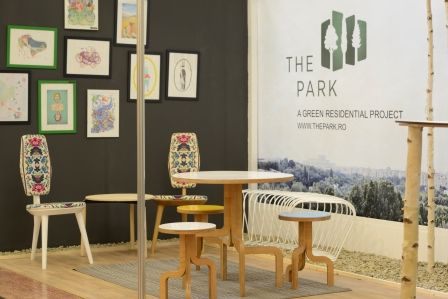 Stand THE PARK, Project-Expo 2015, Romania