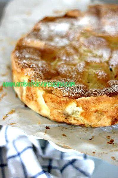 Torta di mele...melosissima (senza burro, olio, latte nè lievito!)   Arabafelice in cucina!   Bloglovin'