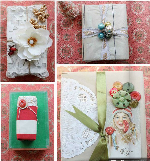 .: Christmas Gifts Wraps, Giftwrap, Gifts Ideas, Gifts Wrappers, Diy Gifts, Handmade Gifts, Wraps Gifts, Christmas Wraps, Wraps Ideas
