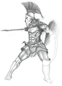 Atanacio Spartan Warrior
