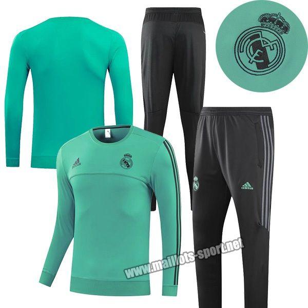 La Boutique Du Nouveau Survetement De Foot Real Madrid Vert