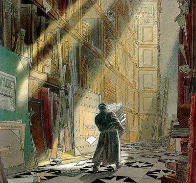Schuiten comics - The Archivist