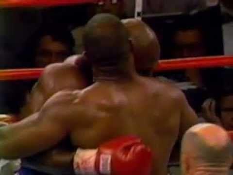 Mike Tyson Bites Evander Holyfield's Ear