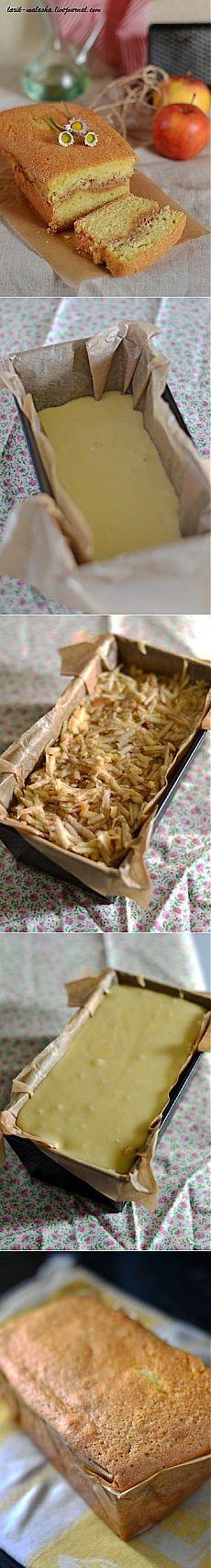 Яблочный кекс с корицей по-югославски