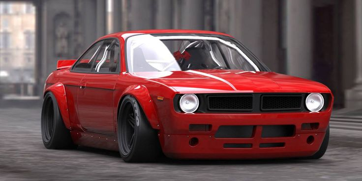 Rocket Bunny has created a mashup so strange and unprecedented that it's a virtual masterpiece in the JDM fascination with all things American.