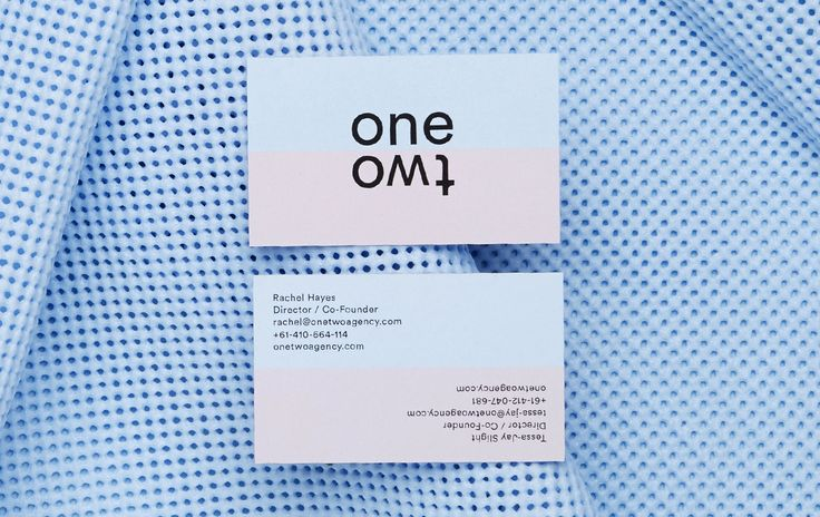 onetwo agency — Stationery