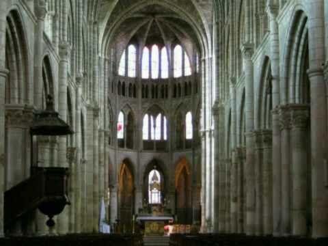 Brieven uit de ME (1/3) Na 2.40 min.: ontw. got. arch. /St. Denis, Parijs / Suger, Dyonisius, God is licht / spitsbogen, gewelven / maaswerk, Mariaverering