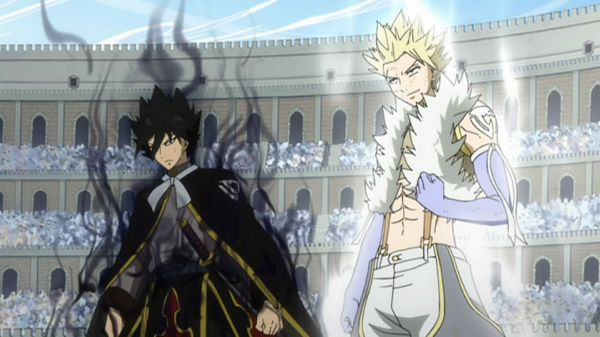 Although the more recent releases of Fairy Tail in the West have been focusing on a filler arc, FUNimation has already announced the English voice actors for two important characters that will appear as enemies once the series returns to the canon storyline with the beginning of the Grand Magic Games. OH YES