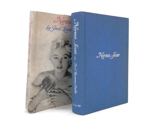 Marilyn Monroe Biography Norma Jean by Fred Lawrence Guiles Book Club Edition