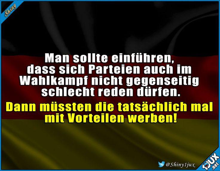 Nur mal so zur Abwechslung. #Wahlkampf #Bundeskanzler #Kanzlerwahl #Politik #Wahlen