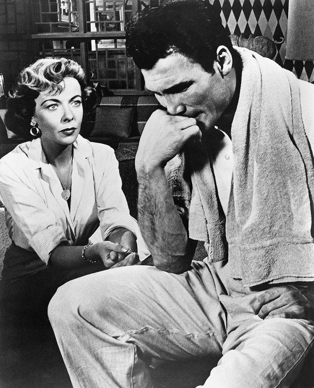 The Big Knife Ida Lupino & Jack Palance