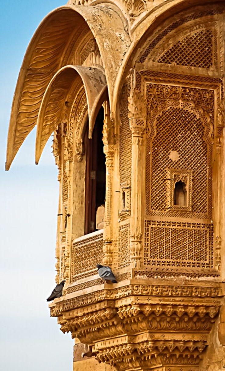 Jaisalmer Fort - Rajasthan -  India                                                                                                                                                                                 More