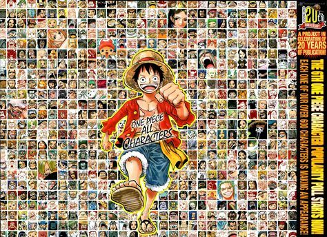 One Piece 863 - All Character