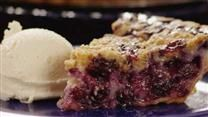 Pretty sure this is the Blueberry Custard pie the Zubkes served last week...