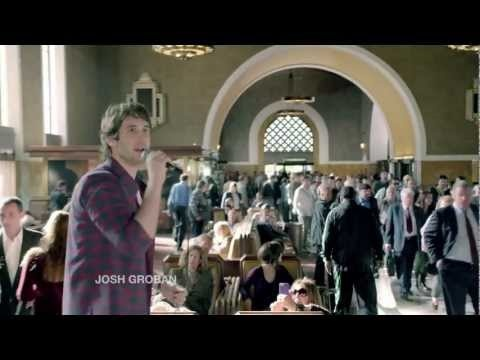 Josh Groban interrupts a busy train station to deliver an important message about the American Cancer Society and cancer survivorship. Today, 2 out of 3 people are surviving cancer for at least five years. But we can't be silent until it's 3 out of 3.    Join the American Cancer Society and make noise to finish the fight against cancer.