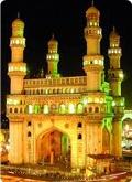 Hyderabad Charminar impressive structure  ............
