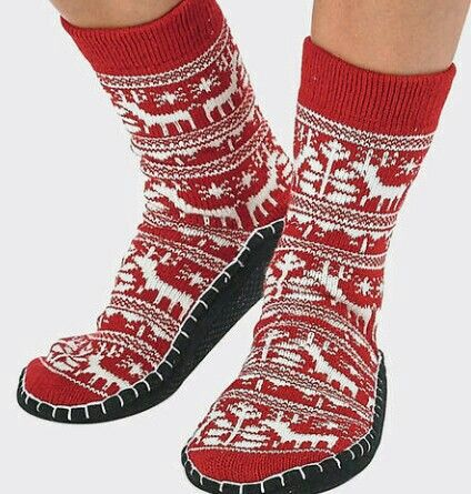 I used to have these slipper-socks in the 80s