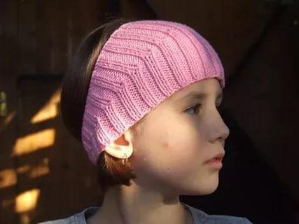 вязаная повязка на голову спицами: 22 тыс изображений найдено в Яндекс.Картинках