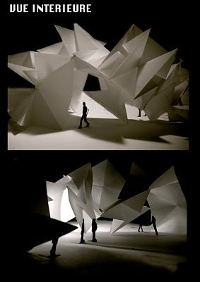 lisa Saunier Book: Folding Architecture (2009) | papercraft paper  architecture | Pinterest | Book folding, Lisa and Architecture
