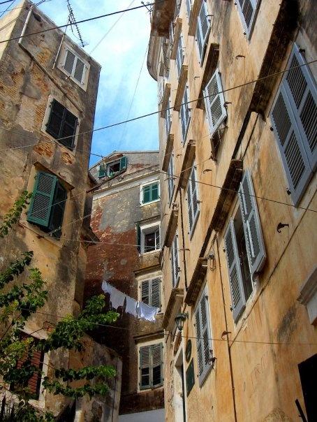 Corfu old town.