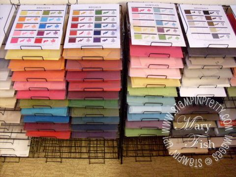 74 best cards storage images on pinterest organization for Stampin pretty craft room