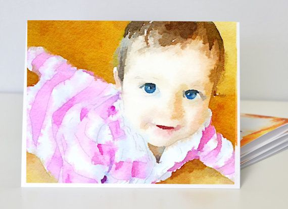 Custom Watercolor Blank CardsWedding Gift / by paperandpalette, $20.00: Baby Gifts Custom, Baby Cards Watercolor, Card Wedding, Gifts Custom Watercolor, Cardswed Gifts, Blank Cards Wedding, Cardsw Gifts, Baby Giftcustom, Cards Wedding Gifts