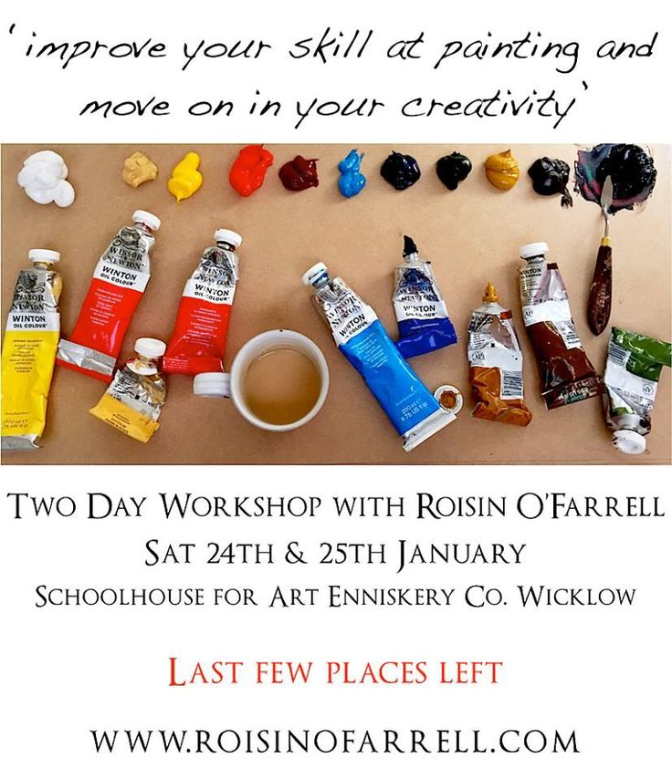 Two day painting & creativity workshop with Roisin O'Farrell