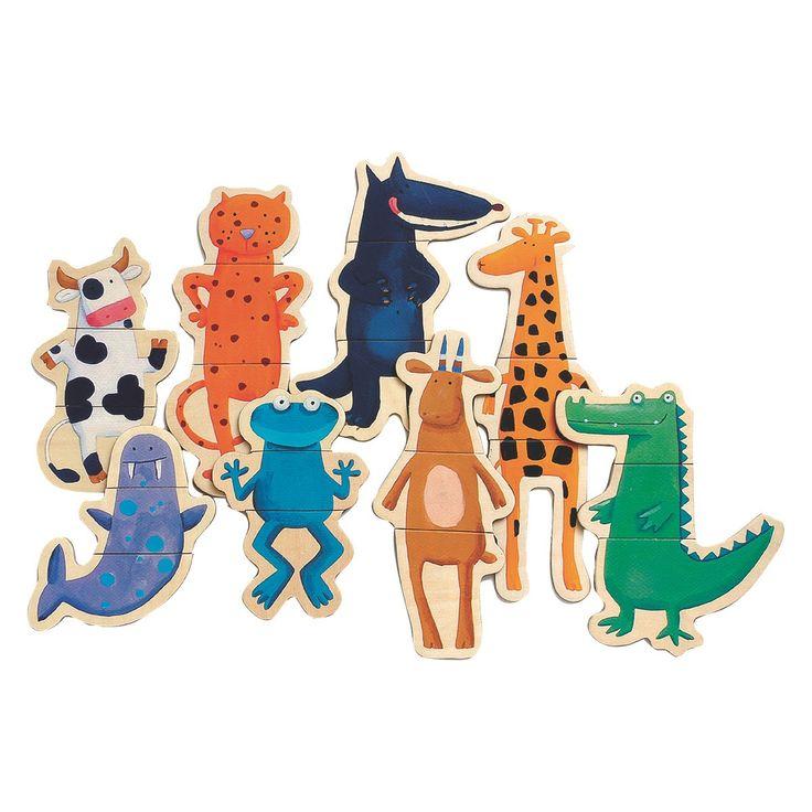 POPPIN Crazy animal magnets | Buy now at Habitat UK
