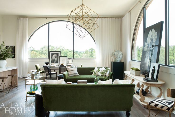 Serenbe Designer Showhouse | Great Room | Kelly Anthony and Jenn Balcos, Wolf Design Group with Swoox