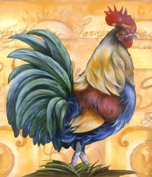 """""""Love the colors on this Rooster""""..."""