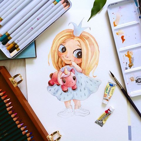 Illustrations. Ideas. Emotions (@yanetskaya_art) | Instagram photos and videos