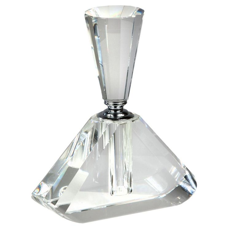 Luxury Art Deco Style Conical Clear