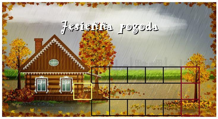 Gra planszowa Jesienna Pogoda