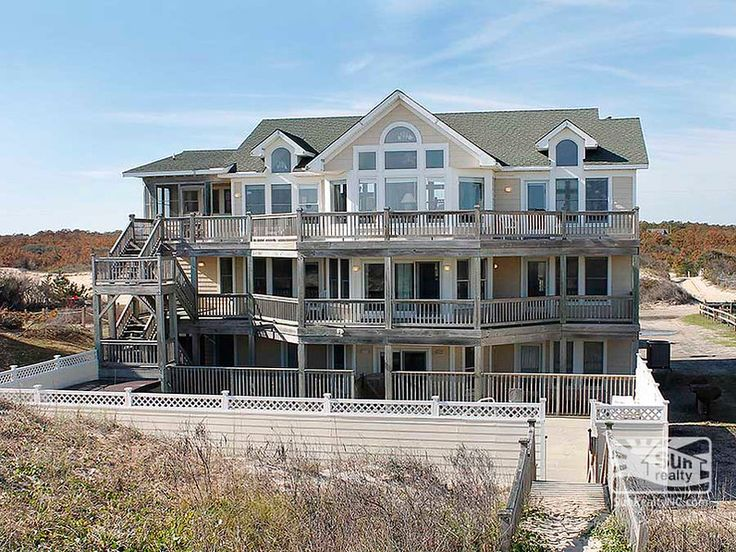 54 best obx luxury vacation rental homes images on pinterest outer