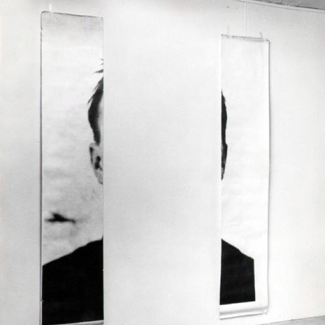 MICHELANGELO PISTOLETTO The Ears of Jasper Johns