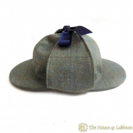 scottish keepers stalking tweed sherlock holmes hats made to order UK