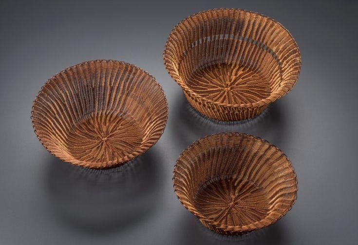 Expoartesanías: Artesano Miguel Cadena. Técnica de tejeduría en cobre.