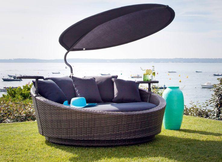 Canapé lit Melrose - Proloisirs - Spécialiste du mobilier de jardin contemporain