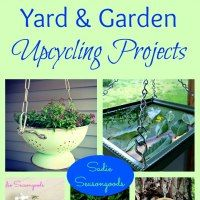 http://www.sadieseasongoods.com/upcycling-in-the-great-outdoors-favorite-yard-garden-projects/