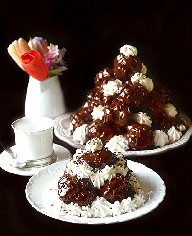 Profiteroles a cioccolato e panna...la ricetta perfetta!!!